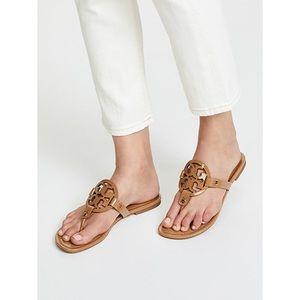Tory Burch tan miller sandals size 8